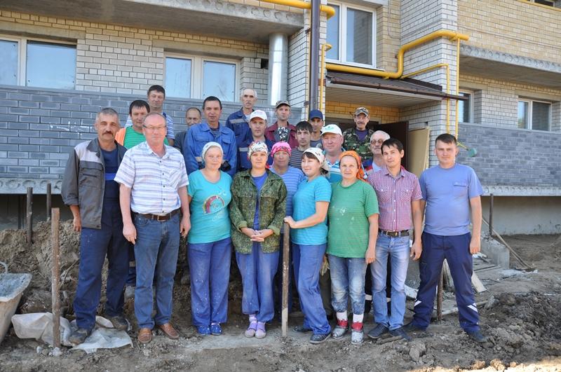 Строители МСО «Вурнарская» - профессионалы высокого класса