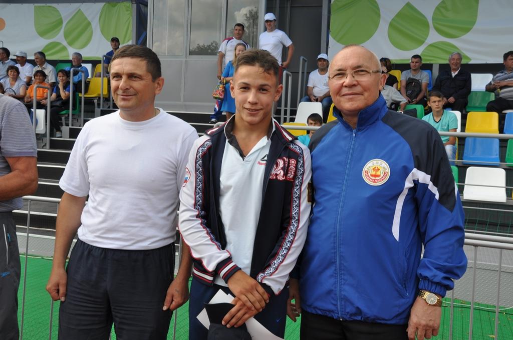 В день физкультурника в Вурнарском районе прошли массовые соревнования