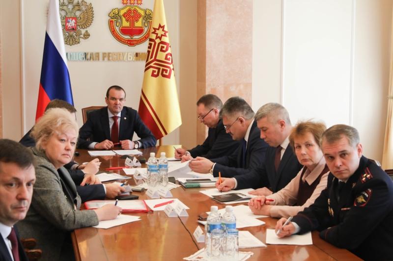 Вурнарский район посетил главный федеральный инспектор по Чувашии Геннадий Федоров