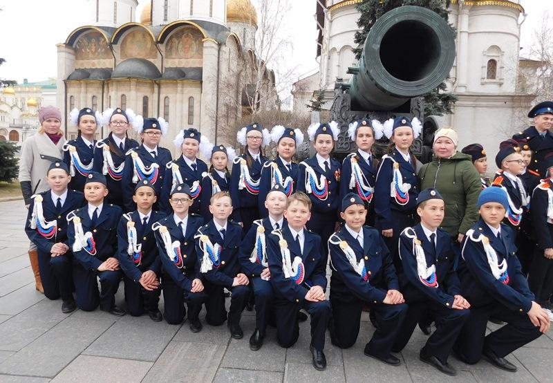 Кадеты Калининской школы одержали победу в конкурсе