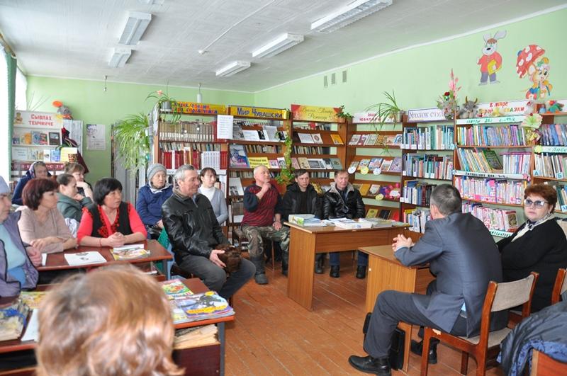 В Вурнарском районе состоялся Единый информационный день