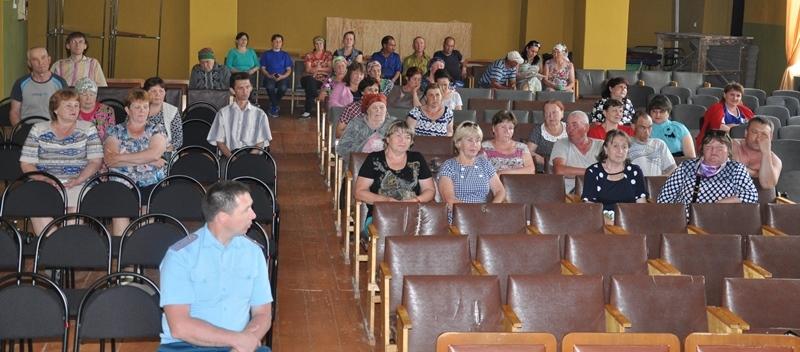 В Шинерском сельском поселении активно обсуждались темы Единого информдня