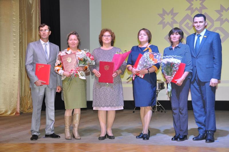 В Вурнарском районе отметили День учителя