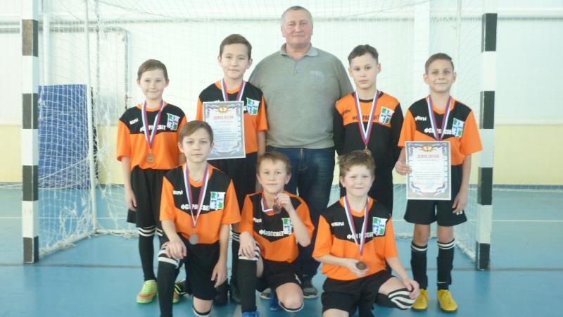 Команда юных футболистов Вурнарского района – бронзовый призер турнира Нижегородской области