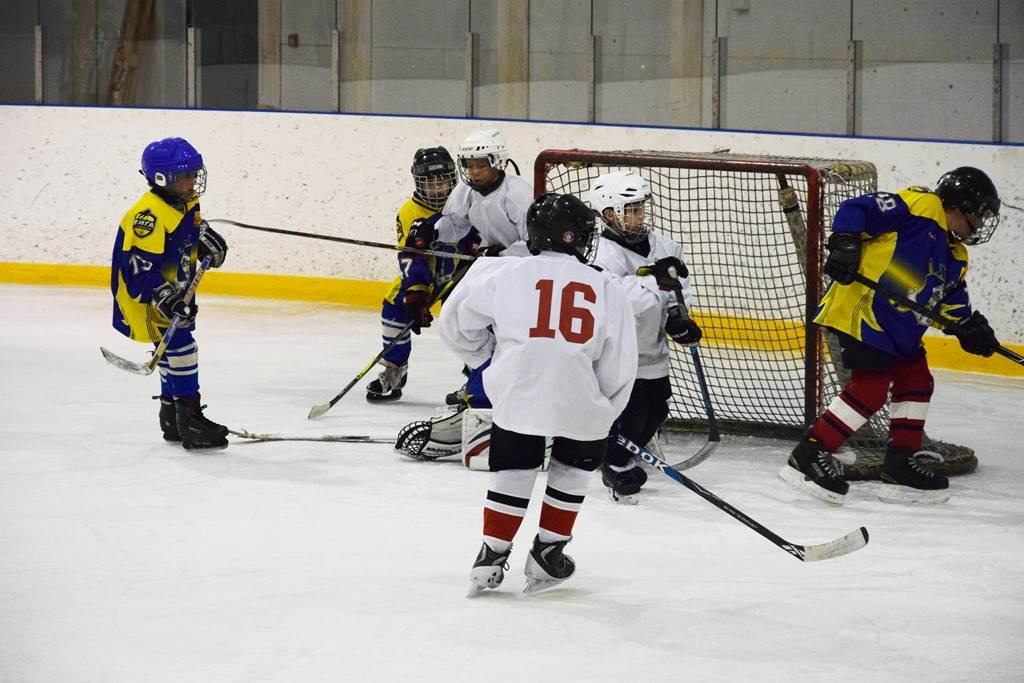 В Вурнарах прошел финал соревнований по хоккею «Золотая шайба» в младшей группе среди сельских команд