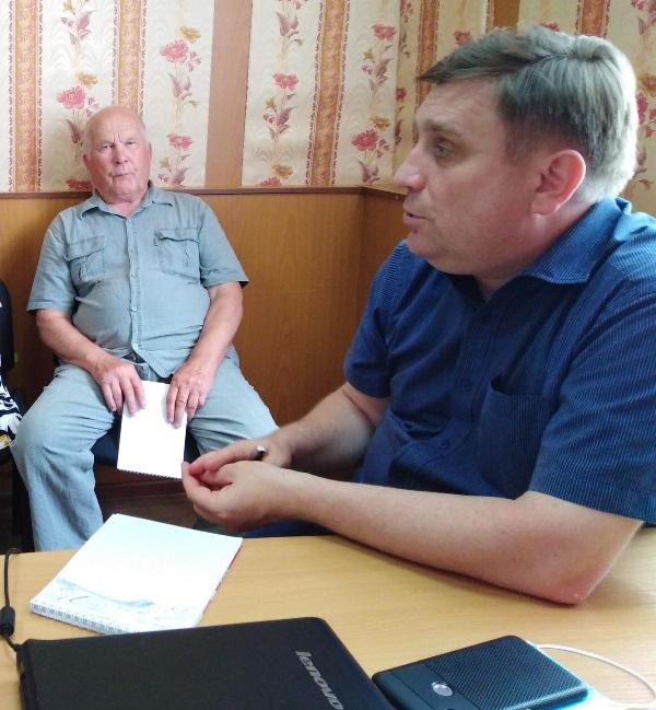Министр цифрового развития Чувашии встретился с газетчиками Вурнарского района