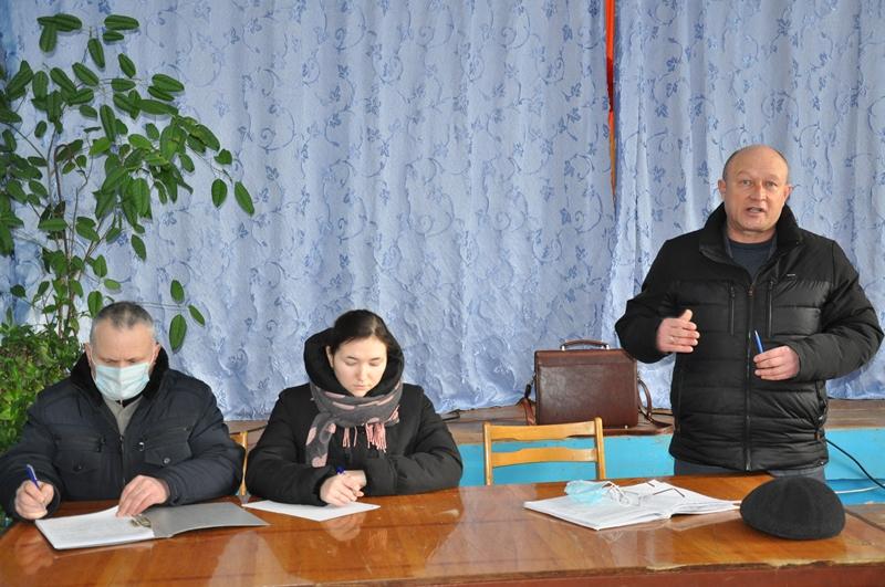 В Кожар-Яндобах состоялась встреча с населением