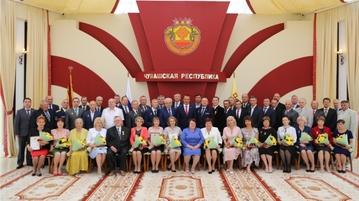 В День Республики труженики Вурнарского района удостоены высоких наград